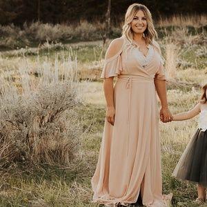 Beautiful blush gown